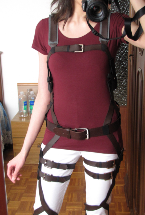 attack on titan cosplay tutorial