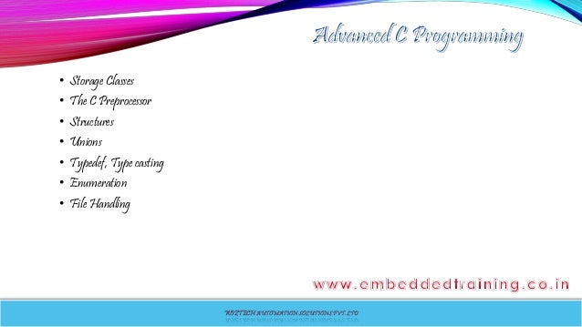 c++ for embedded systems tutorial
