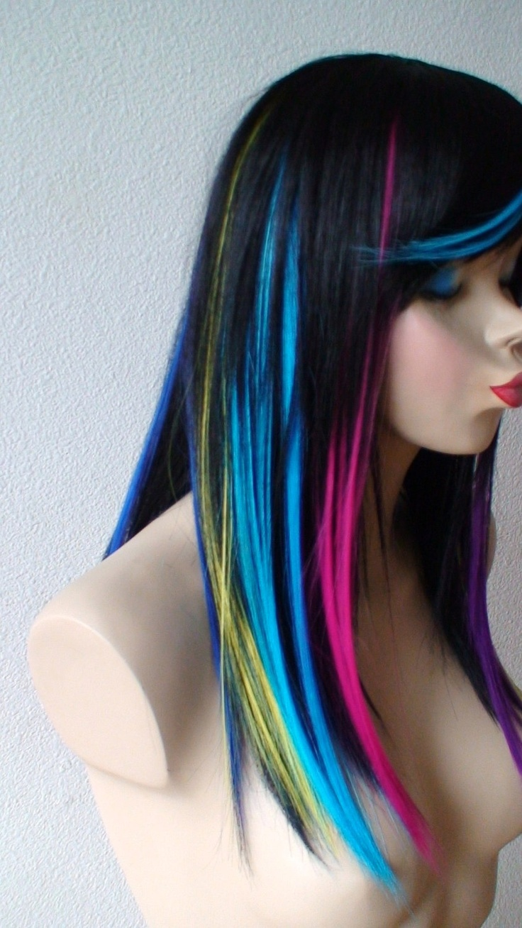 rainbow ombre hair tutorial