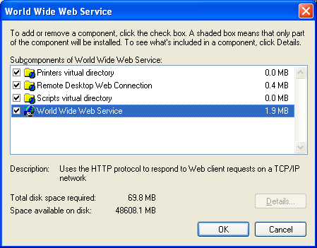 windows web services tutorial