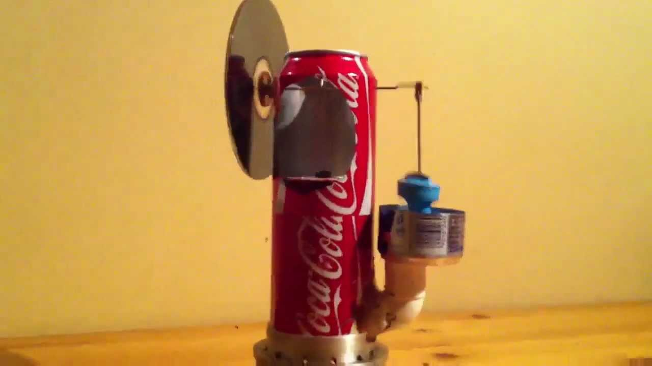soda can stirling engine tutorial