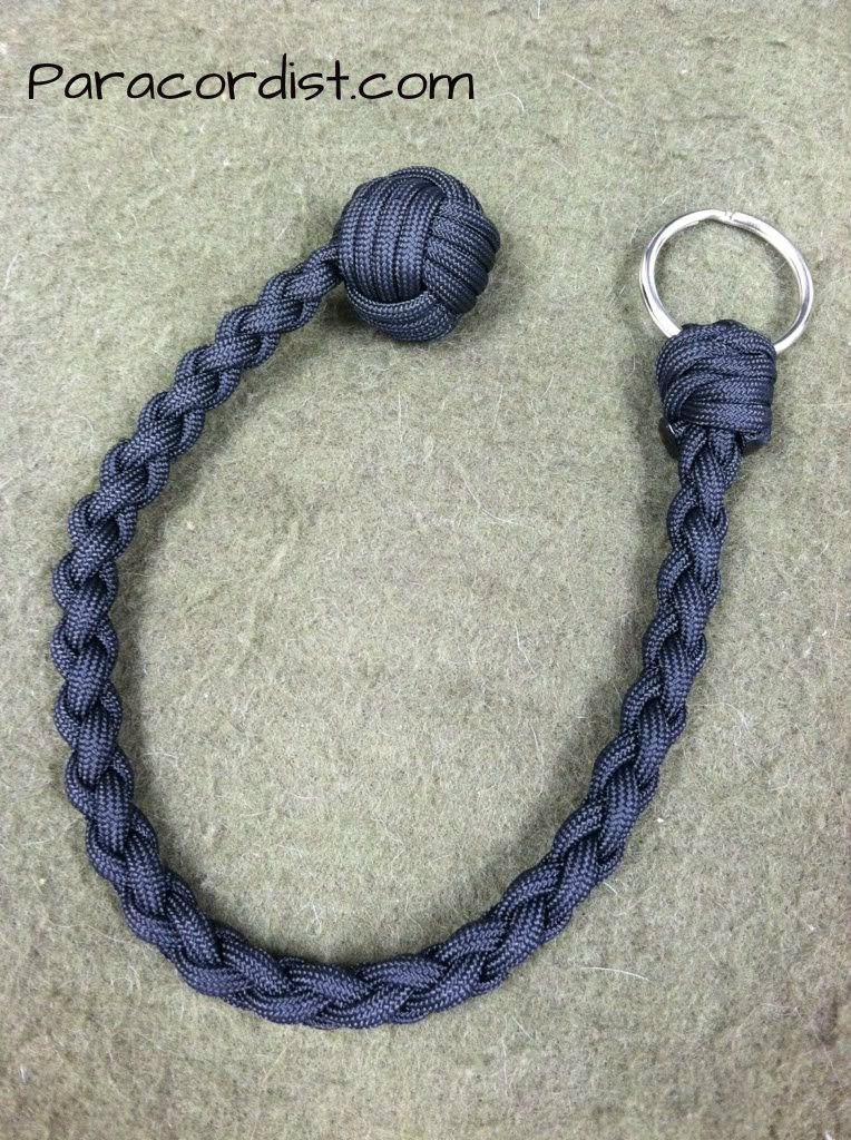 monkey fist keychain tutorial