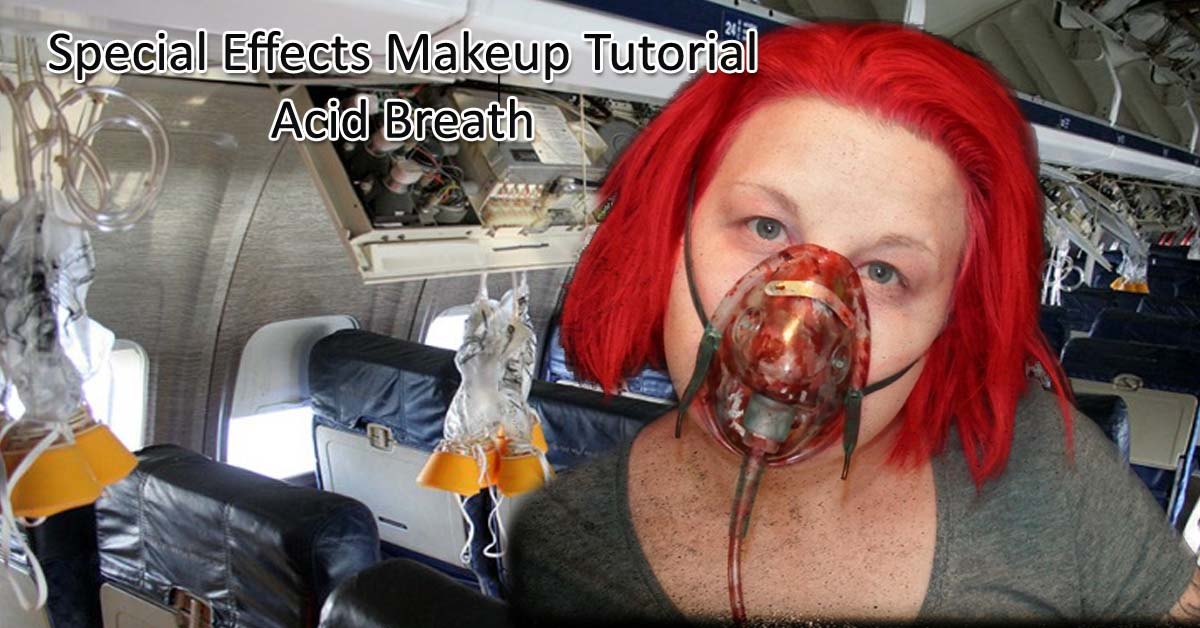 easy special effects makeup tutorial