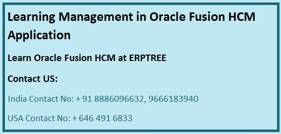 oracle learning management tutorial