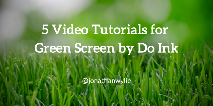 do ink green screen tutorial
