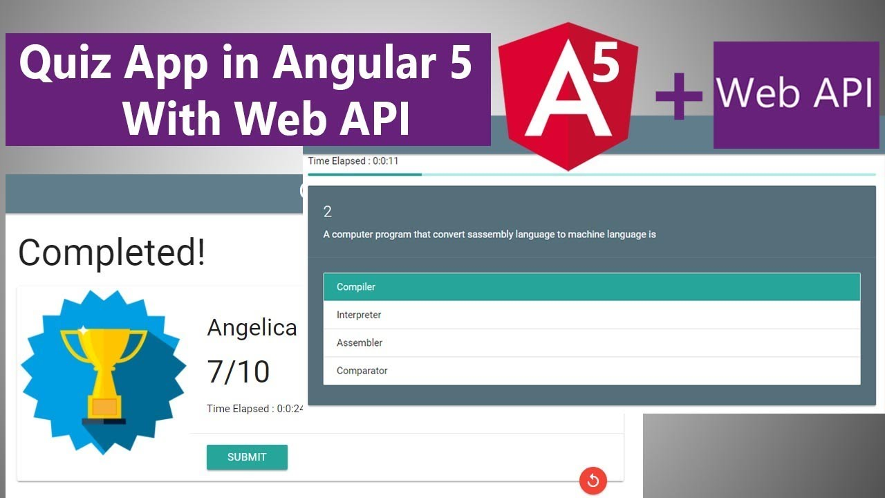 angular web app tutorial