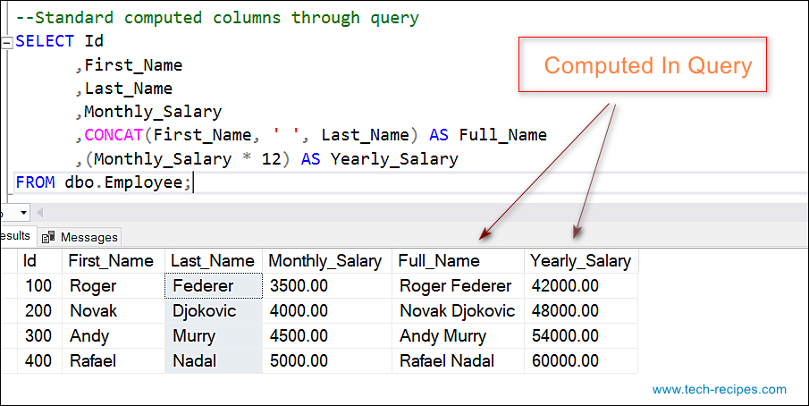 sql server query tutorial