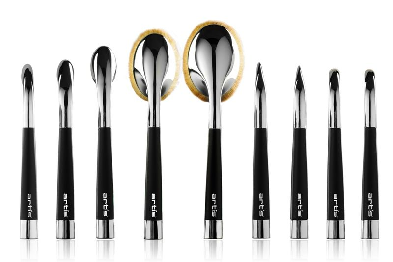 oval makeup brush tutorial