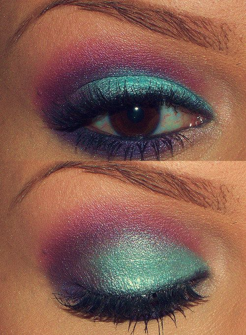80s eye makeup tutorial