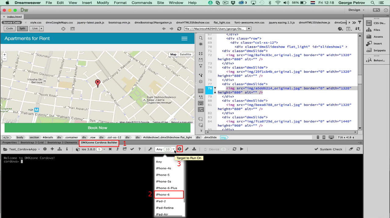 cordova google maps tutorial