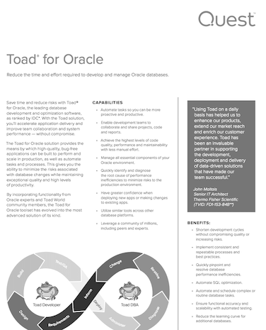 toad for oracle tutorial