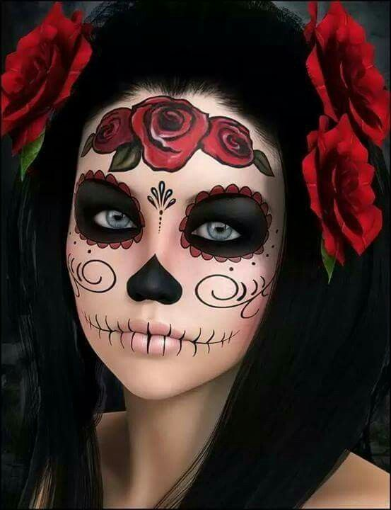 pretty day of the dead makeup tutorial