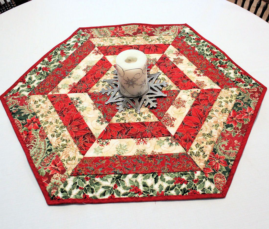 hexagon table runner tutorial