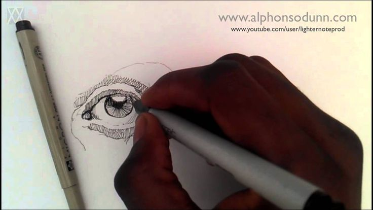 pen and ink portrait tutorial