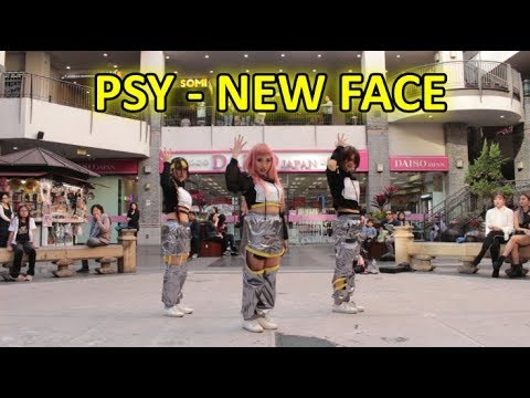 psy new face dance tutorial