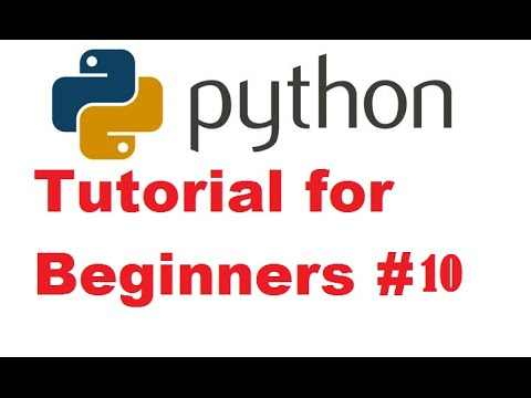 python video tutorial for beginners