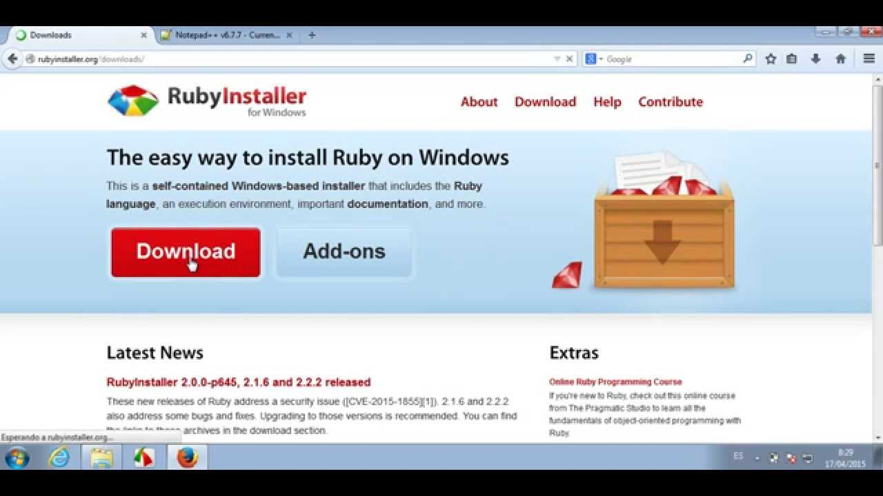 ruby watir webdriver tutorial