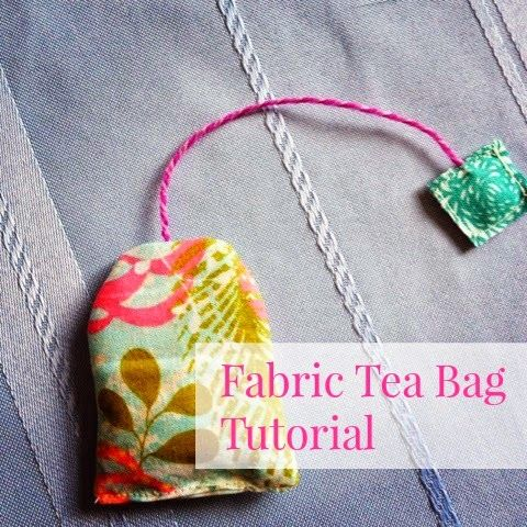 tea staining fabric tutorial